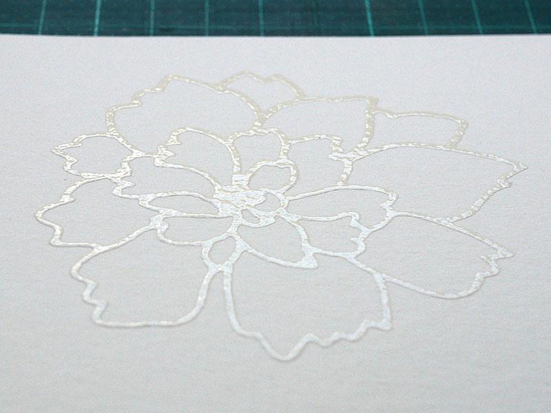 Karten-Kunst Techniques-Blog - Blitz-Colorieren #2
